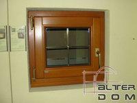 okno sosnowe s2 ze szprosem