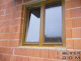 okno dąb D3